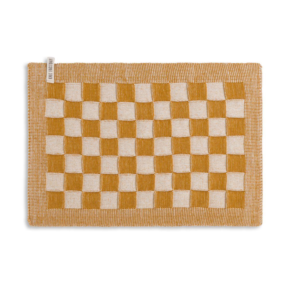 placemat block ecruochre