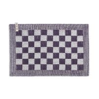 Placemat Block Ecru/Purple