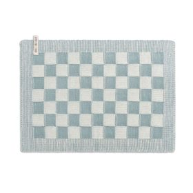 Placemat Block Ecru/Stone Green