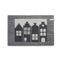 Placemat House Ecru/Anthracite