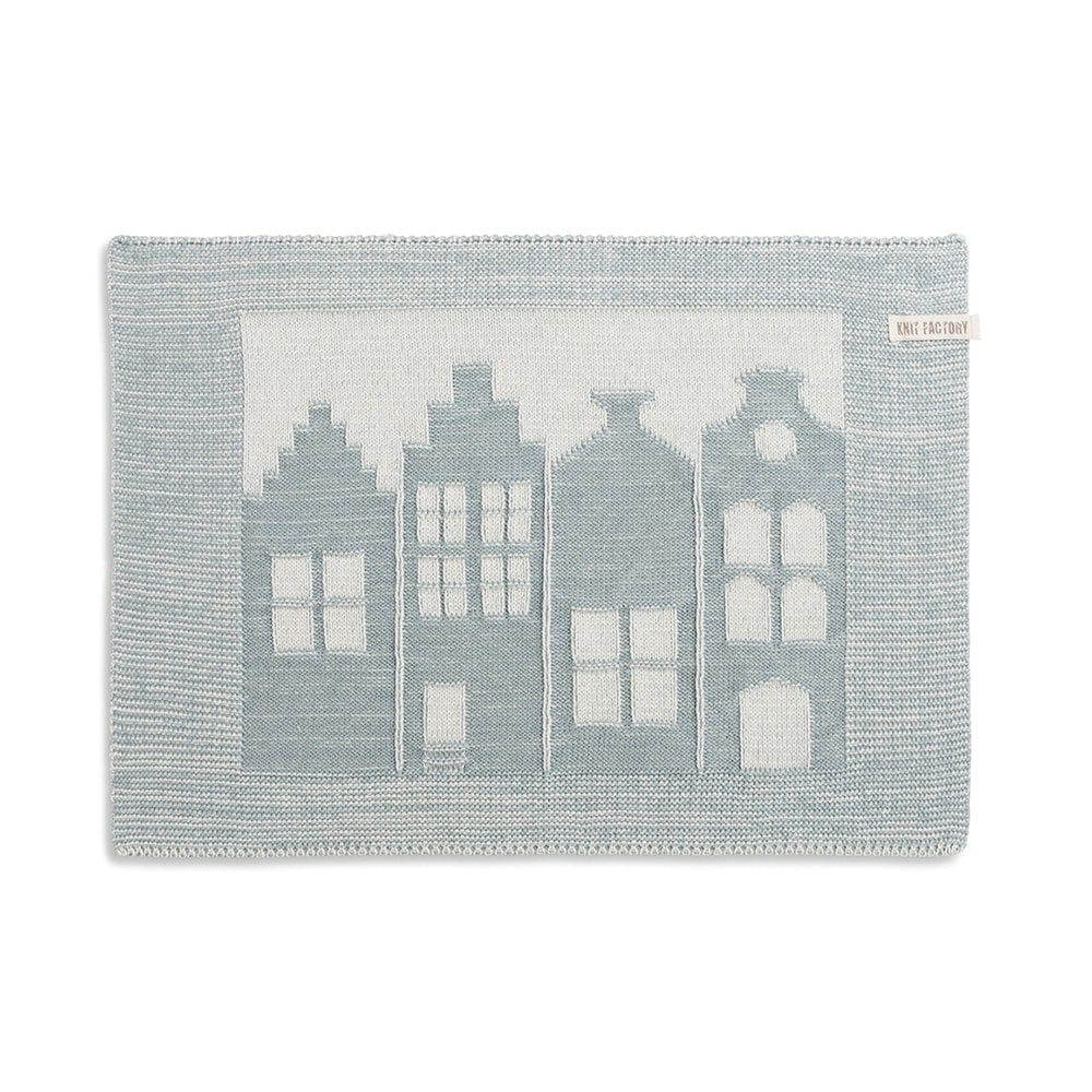 placemat house ecrustone green