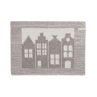 Placemat House Ecru/Taupe
