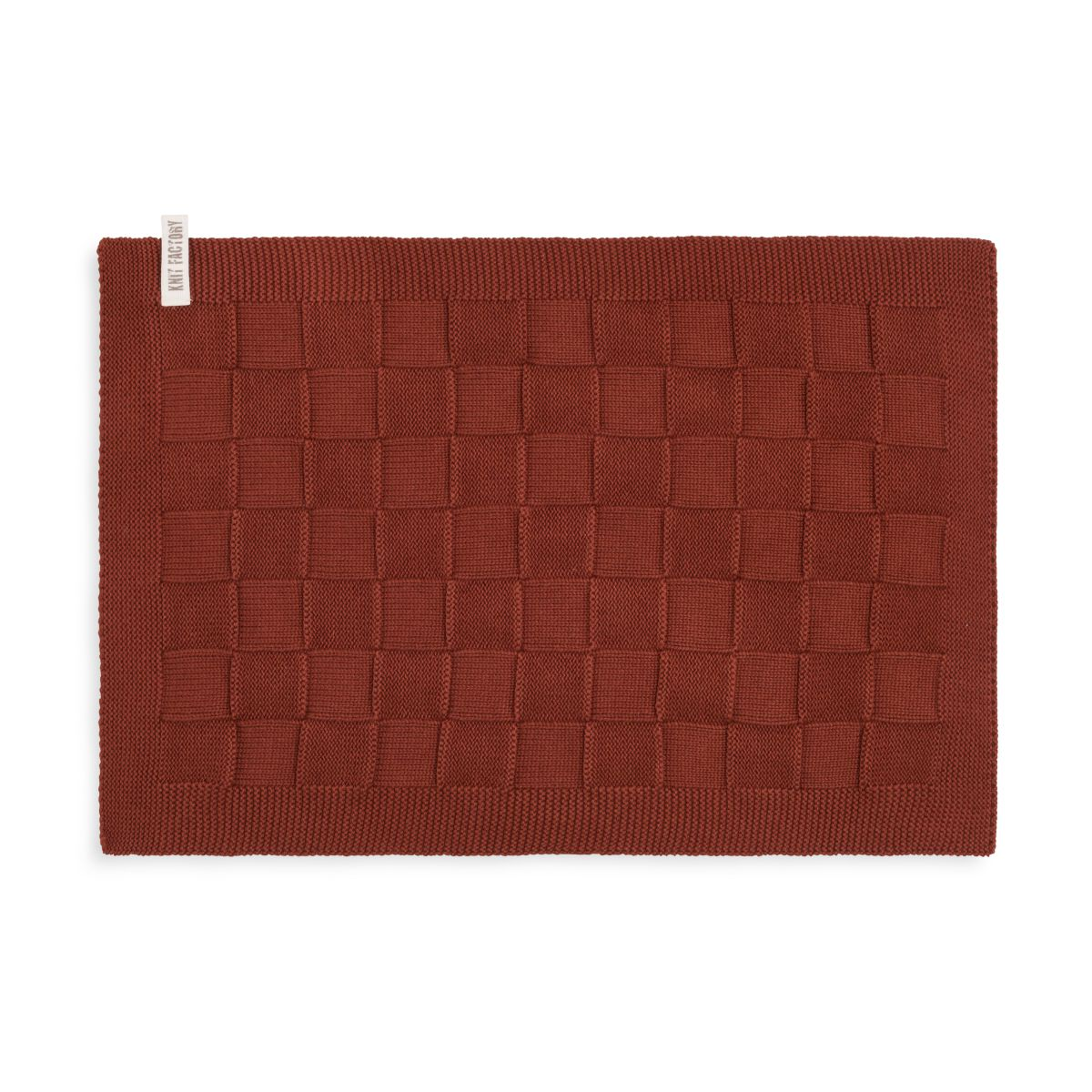 placemat uni rust