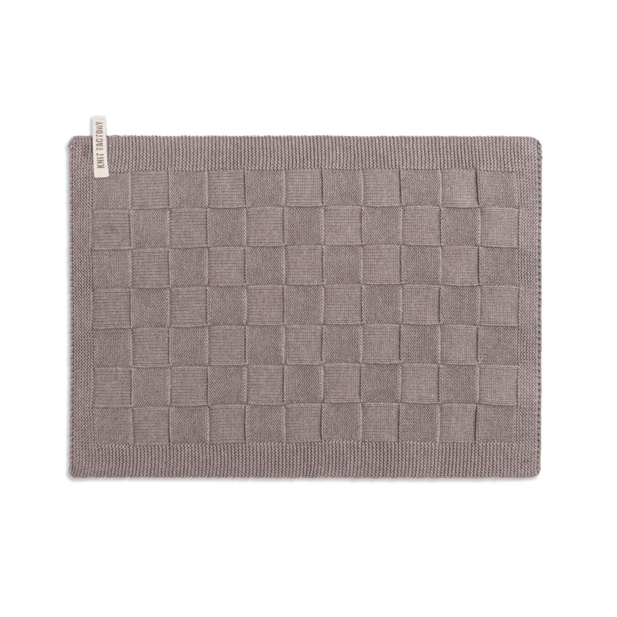 placemat uni taupe