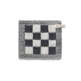 Potholder Block Ecru/Anthracite