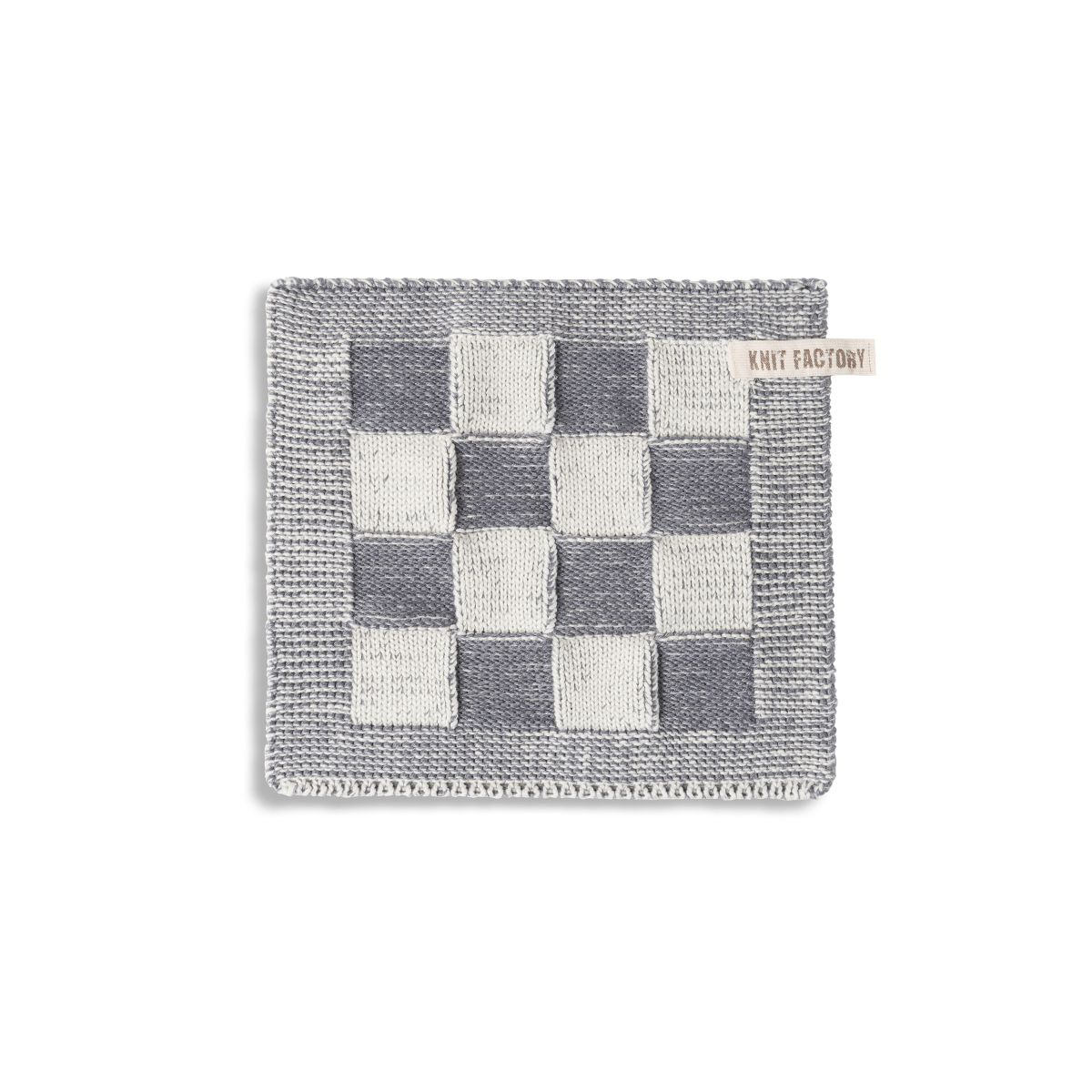 potholder block ecrumed grey