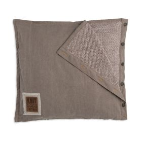 Rick Cushion Beige/Marron - 50x50