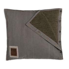 Rick Cushion Green/Olive - 50x50