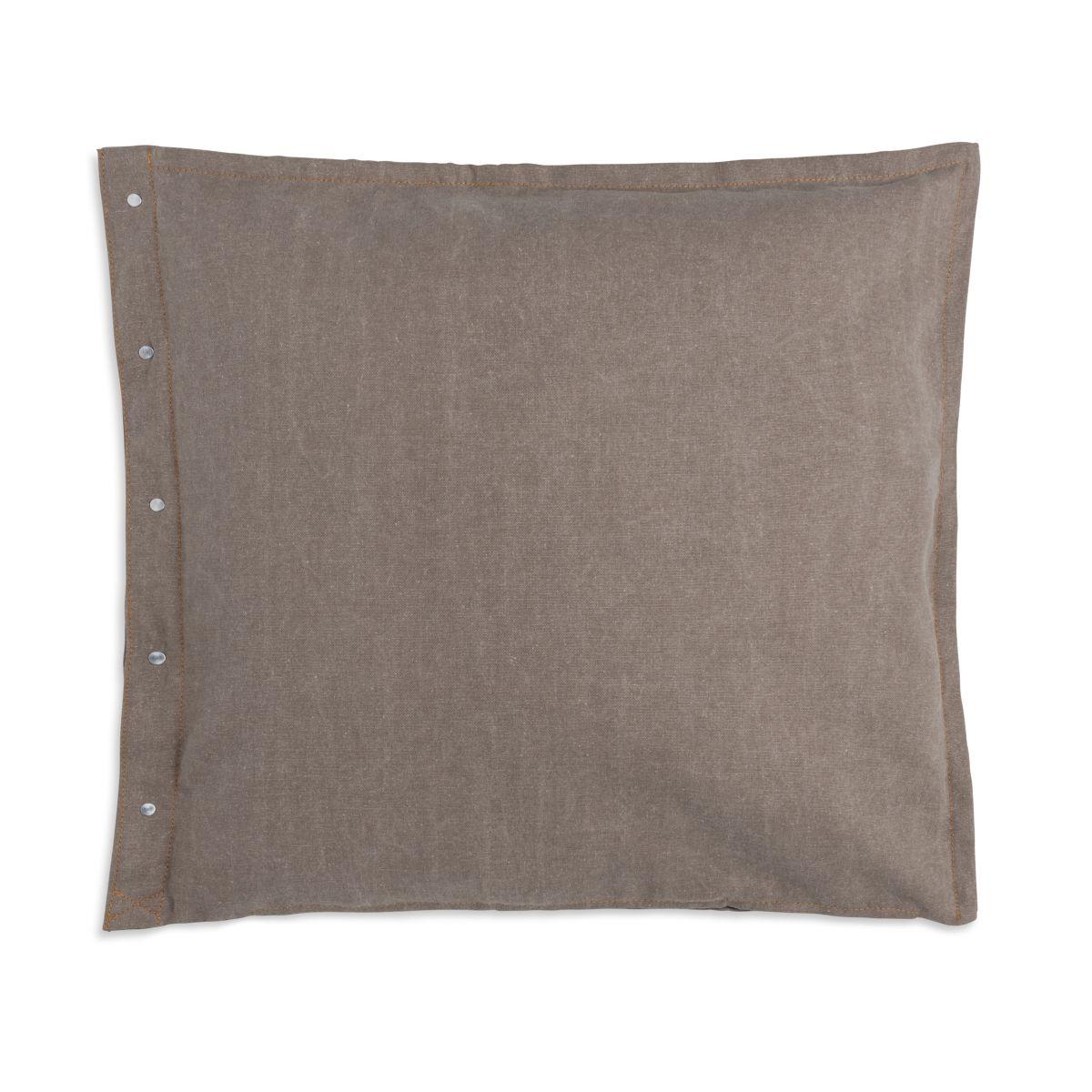 knit factory 1321252 rick kussen 50x50 beige marron 2