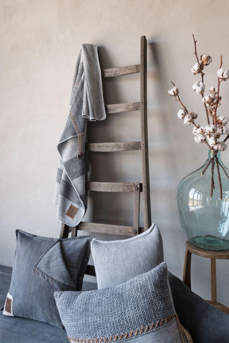 knit factory 1321252 rick kussen 50x50 beige marron 6