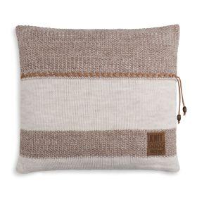 Roxx Cushion Beige/Marron - 50x50