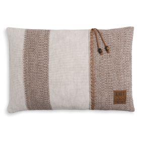 Roxx Cushion Beige/Marron - 60x40