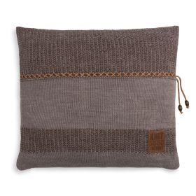 Roxx Cushion Brown/Taupe - 50x50