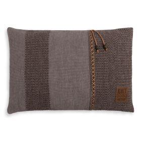 Roxx Cushion Brown/Taupe - 60x40