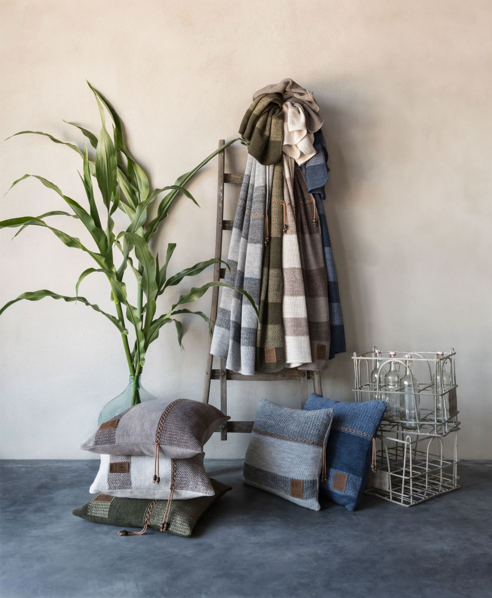 roxx cushion greenolive 50x50
