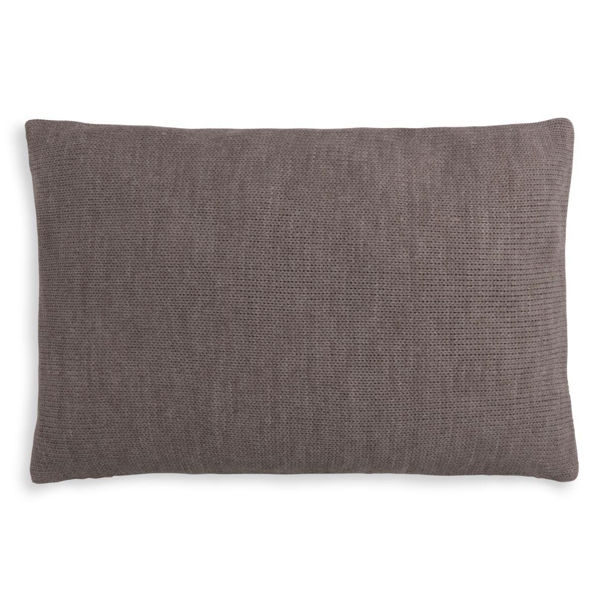 knit factory 1311348 roxx kussen 60x40 bruin taupe 2