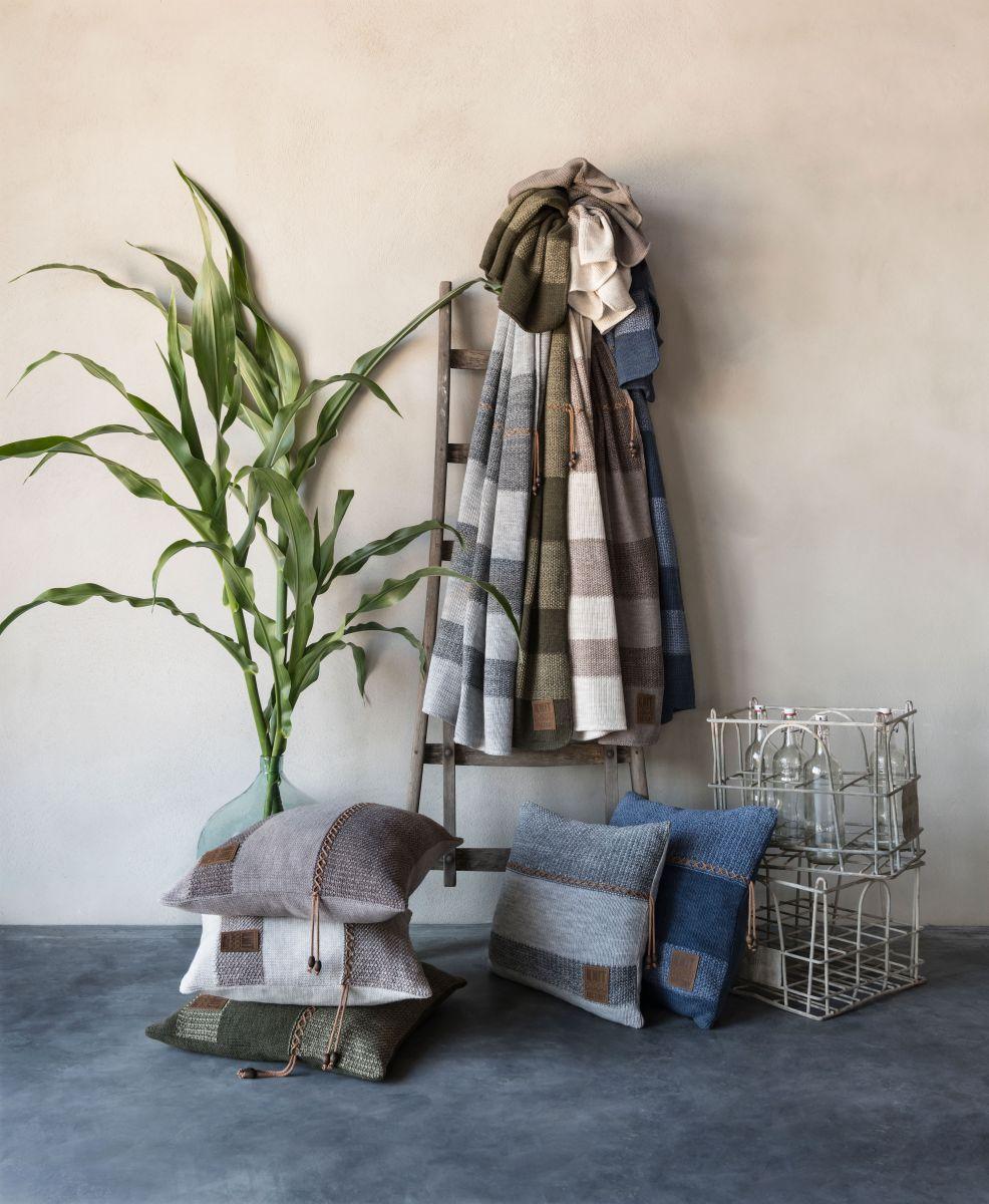 knit factory 1311144 roxx plaid groen olive 4