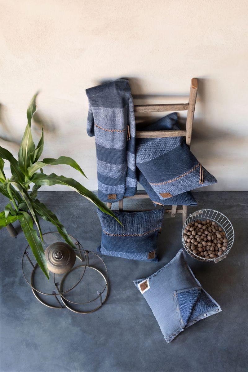 knit factory 1311154 roxx plaid jeans indigo 6