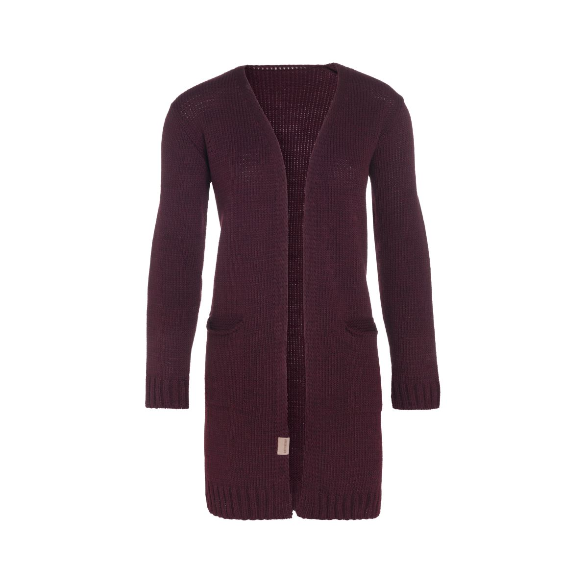 knit factory kf14008102349 ruby vest aubergine 3638 1