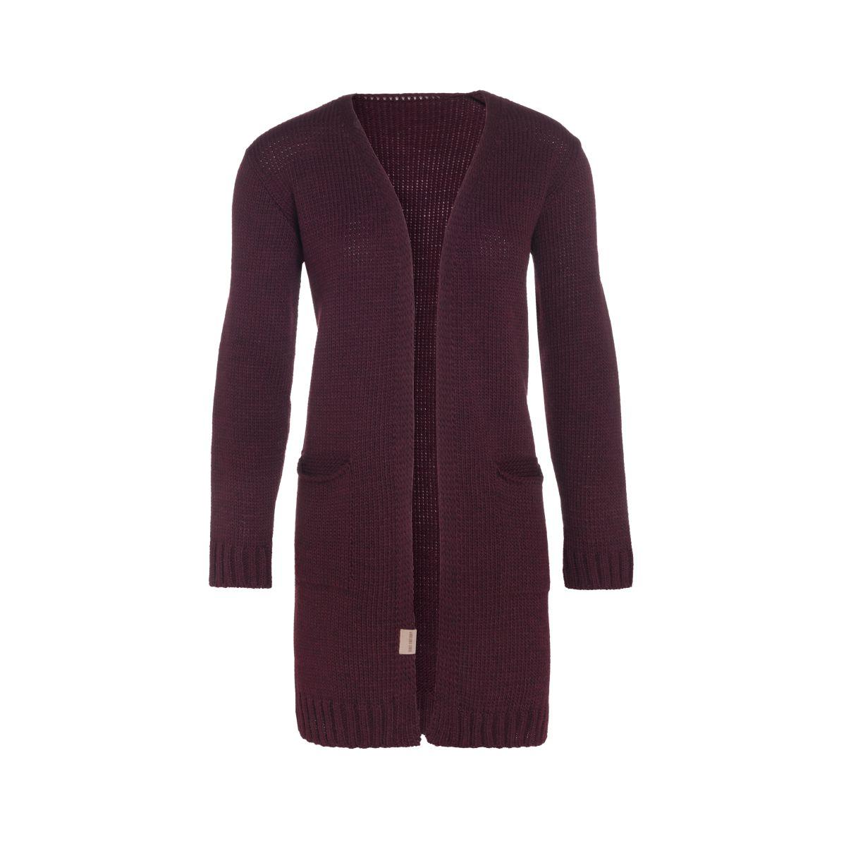 knit factory kf14008102351 ruby vest aubergine 4042 1