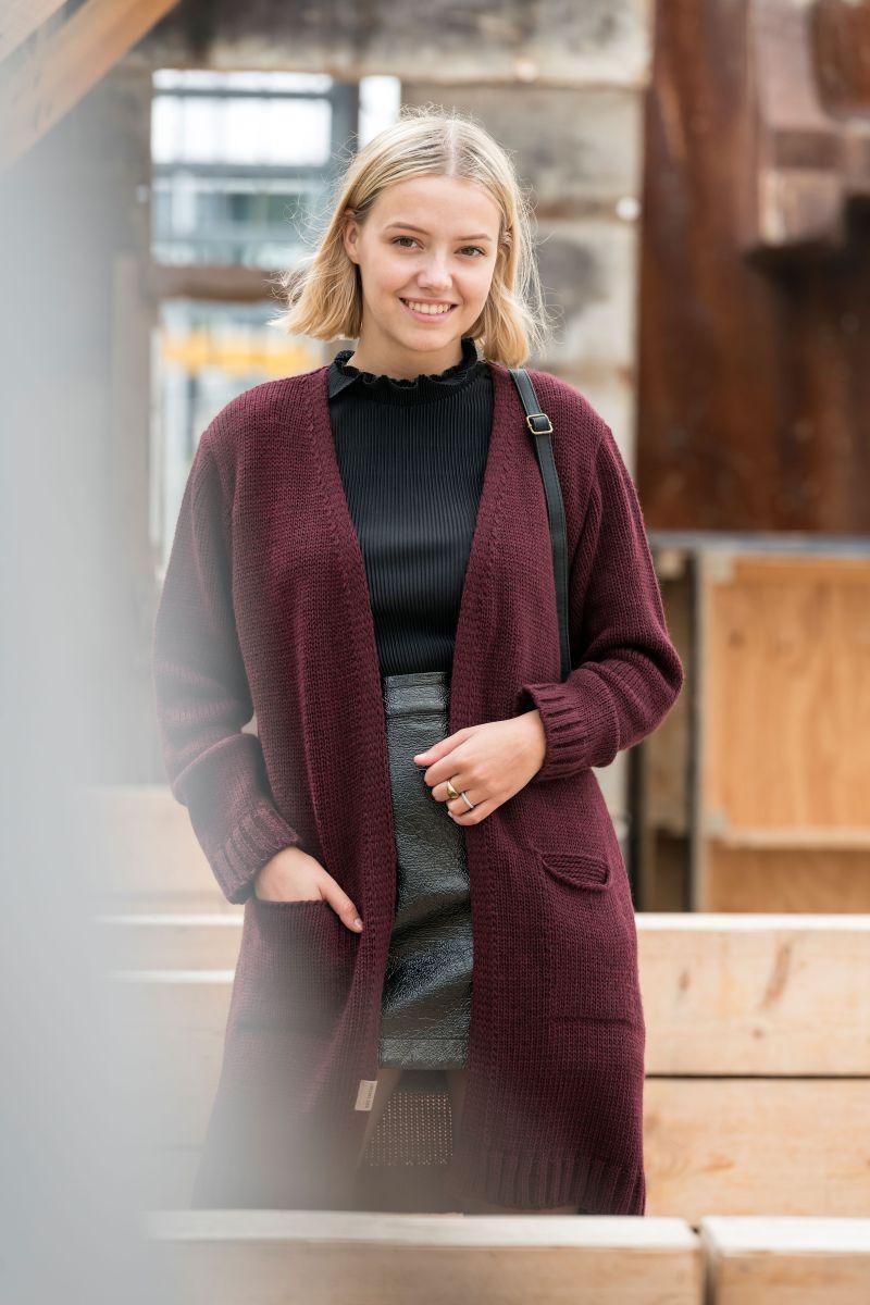 knit factory kf14008102351 ruby vest aubergine 4042 2