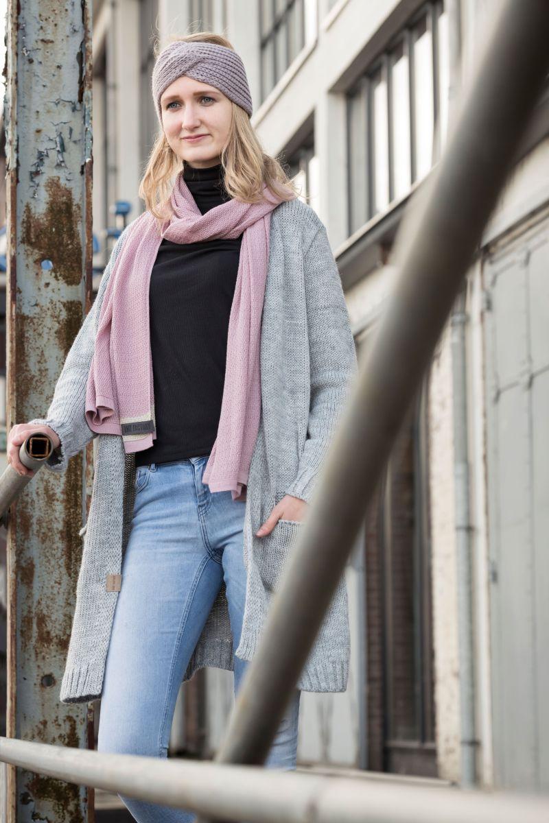 knit factory 1406311 ruby vest 4042 licht grijs 2