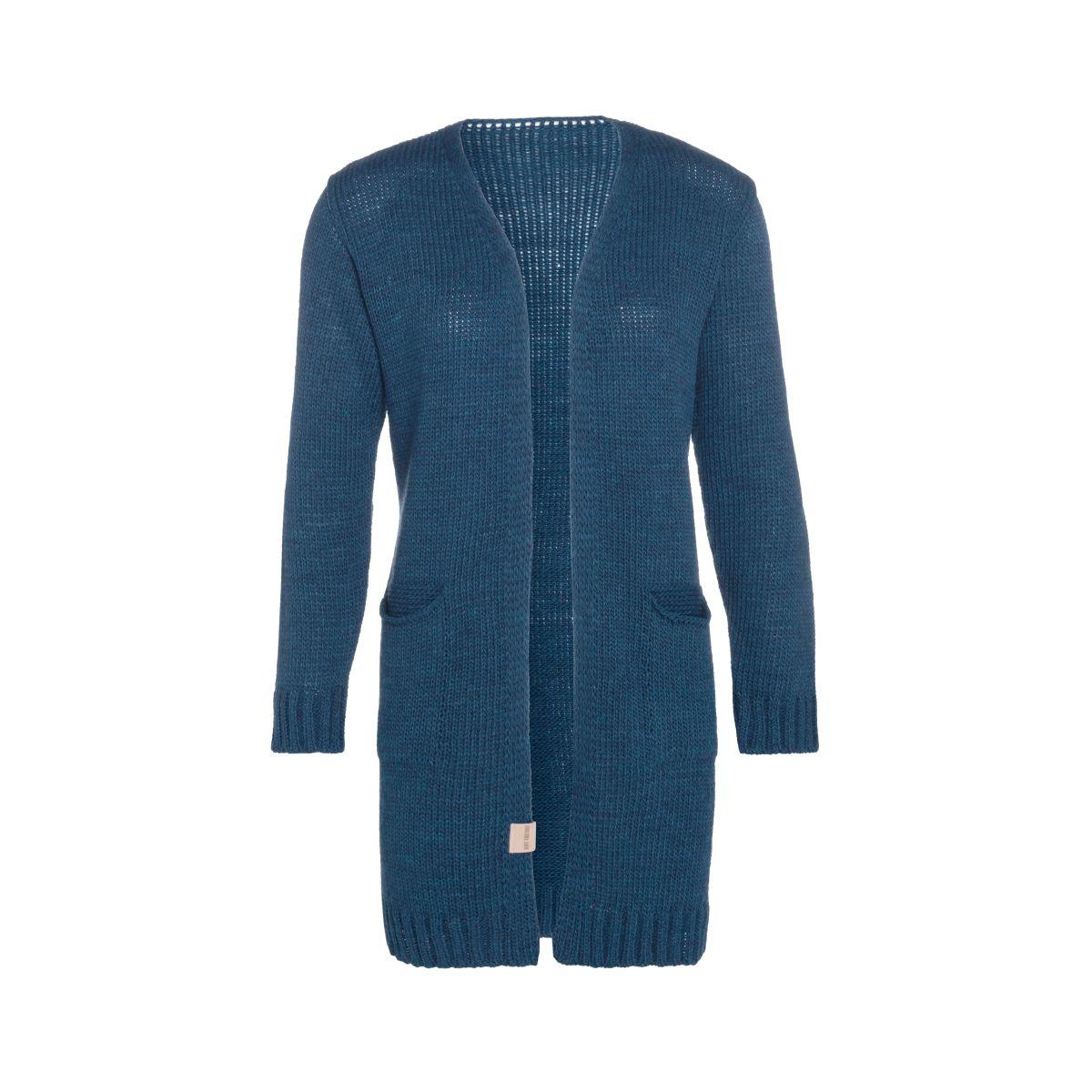 knit factory kf14008100851 ruby vest petrol 4042 1