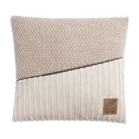 Sam Cushion 50x50 Beige/Marron