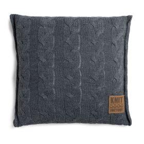 Sasha Cushion Anthracite - 50x50