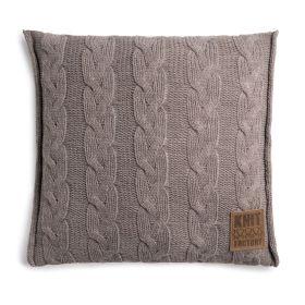 Sasha Cushion Taupe - 50x50