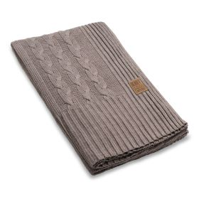 Sasha Plaid Taupe - 280x130