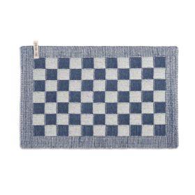 Tischset Block Ecru/Jeans