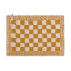Tischset Block Ecru/Ocker