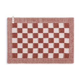 Tischset Block Ecru/Rost