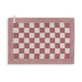 Tischset Block Ecru/Stone Red