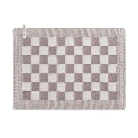 Tischset Block Ecru/Taupe