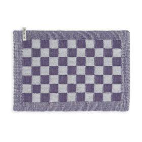 Tischset Block Ecru/Violett