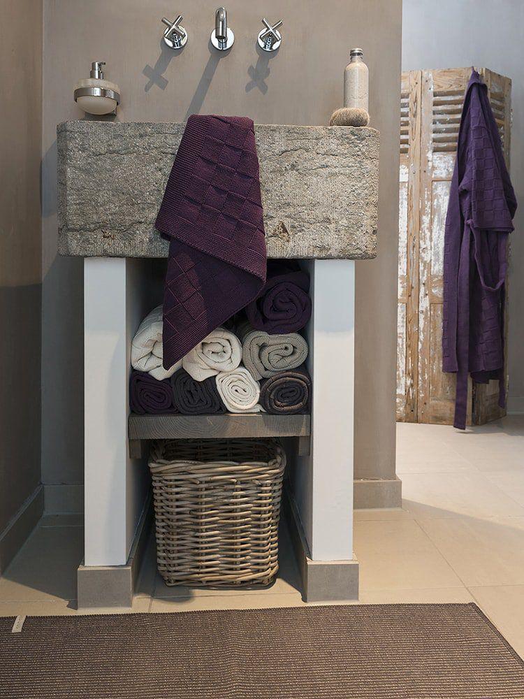 towel 60x110 cm linnen