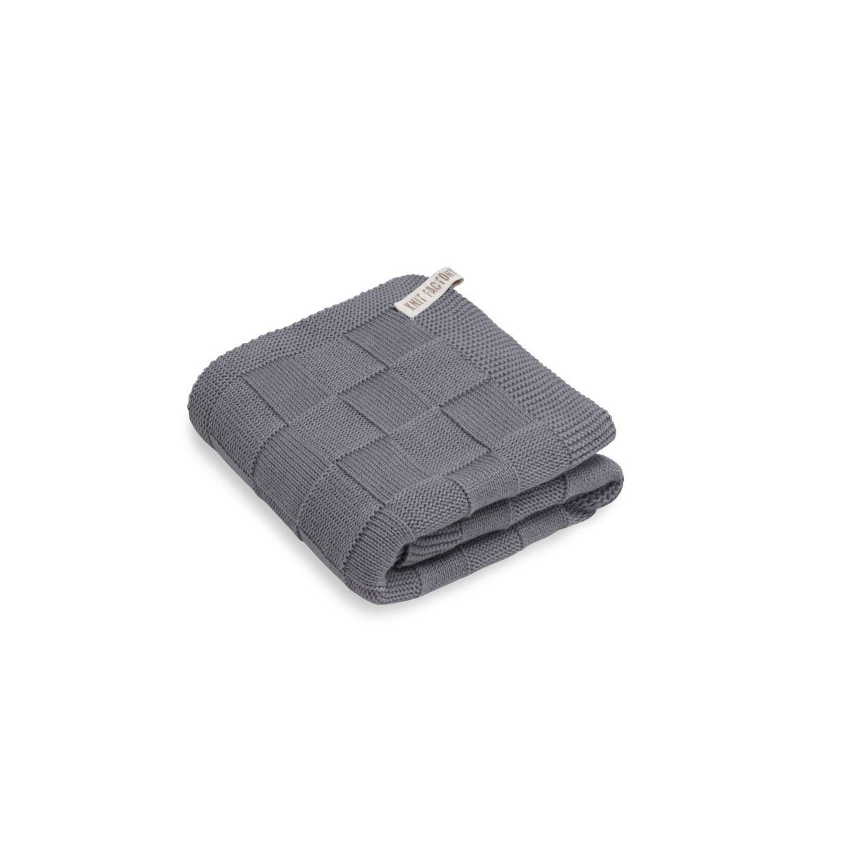 towel ivy med grey 60x110