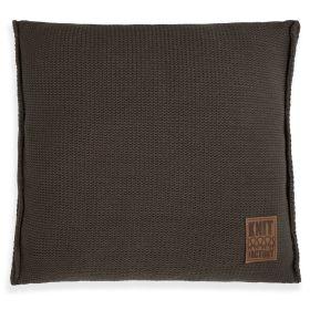 Uni Cushion Dark Taupe - 50x50