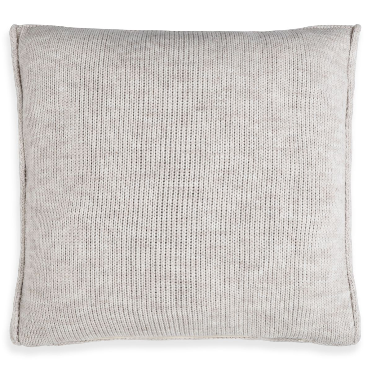 knit factory 1131212 kussen 50x50 uni beige 2