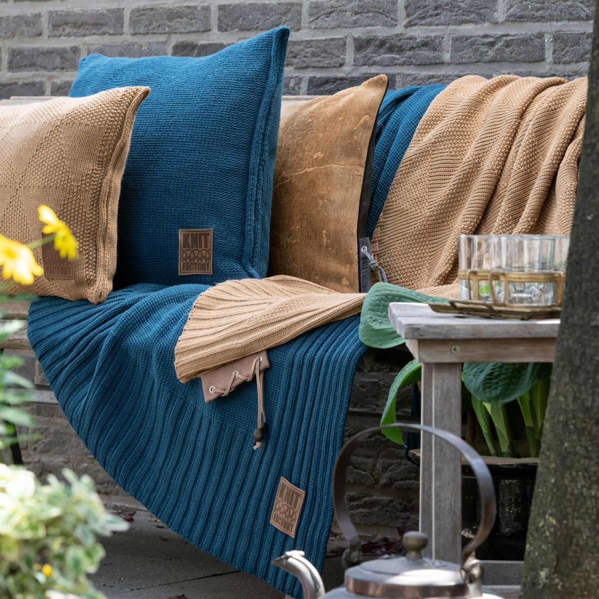 11312 knit factory kussen 50x50 uni 1