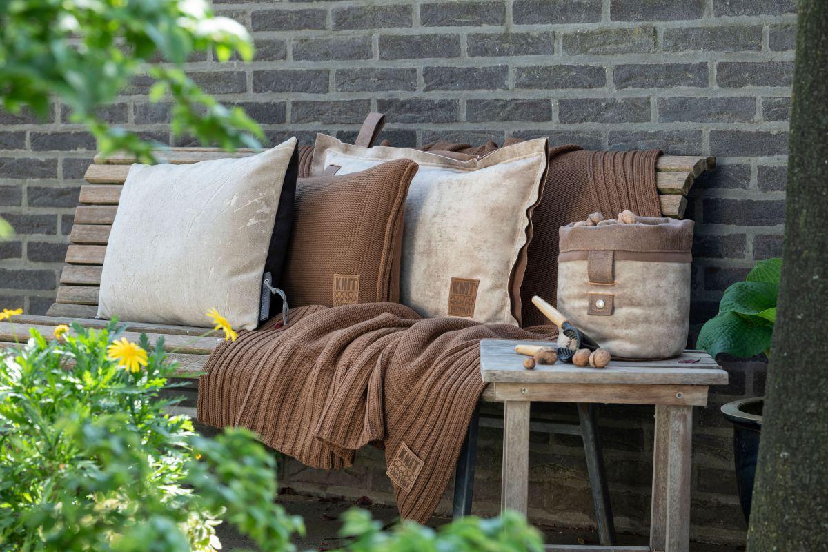11312 knit factory kussen 50x50 uni 5