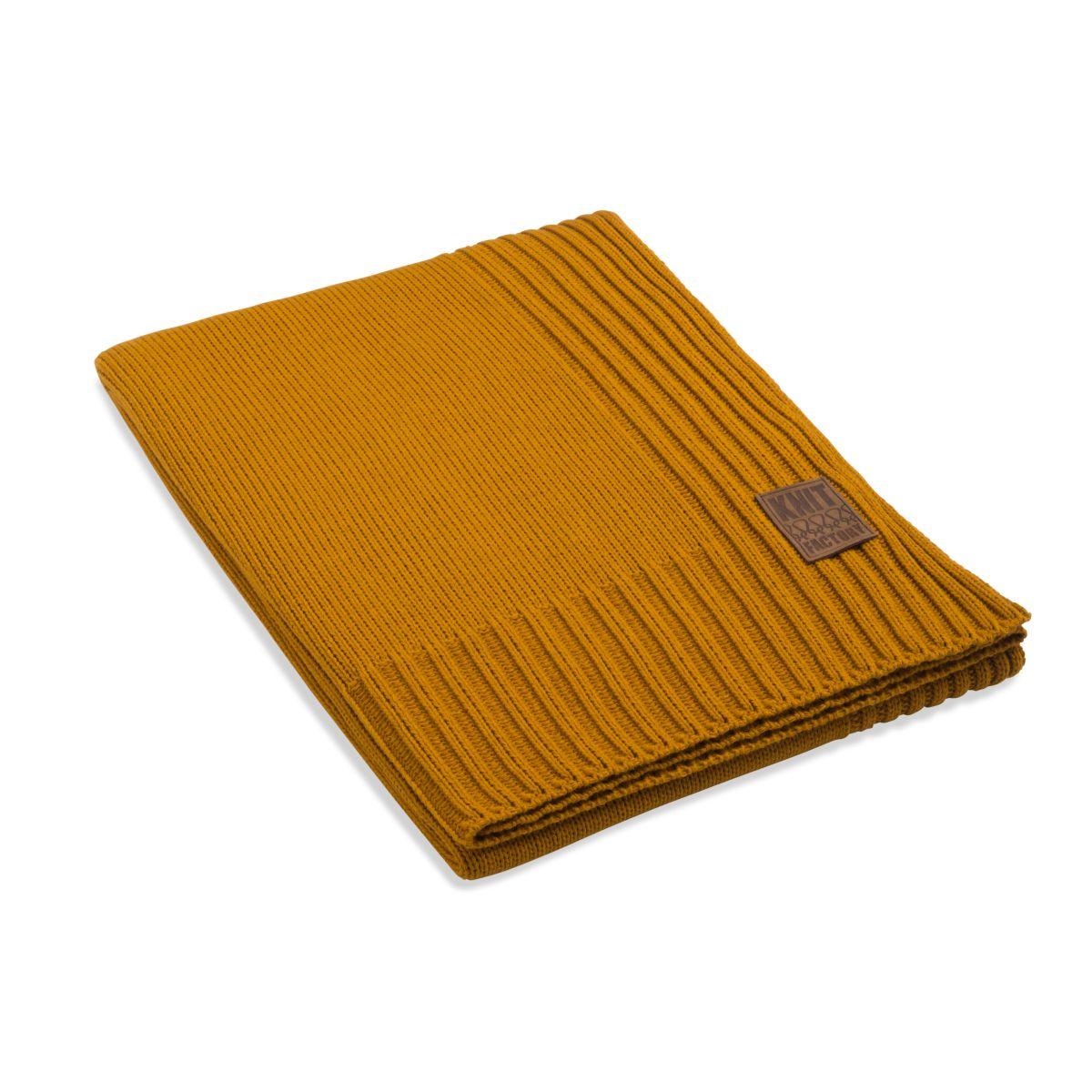 knit factory 1131117 plaid uni oker