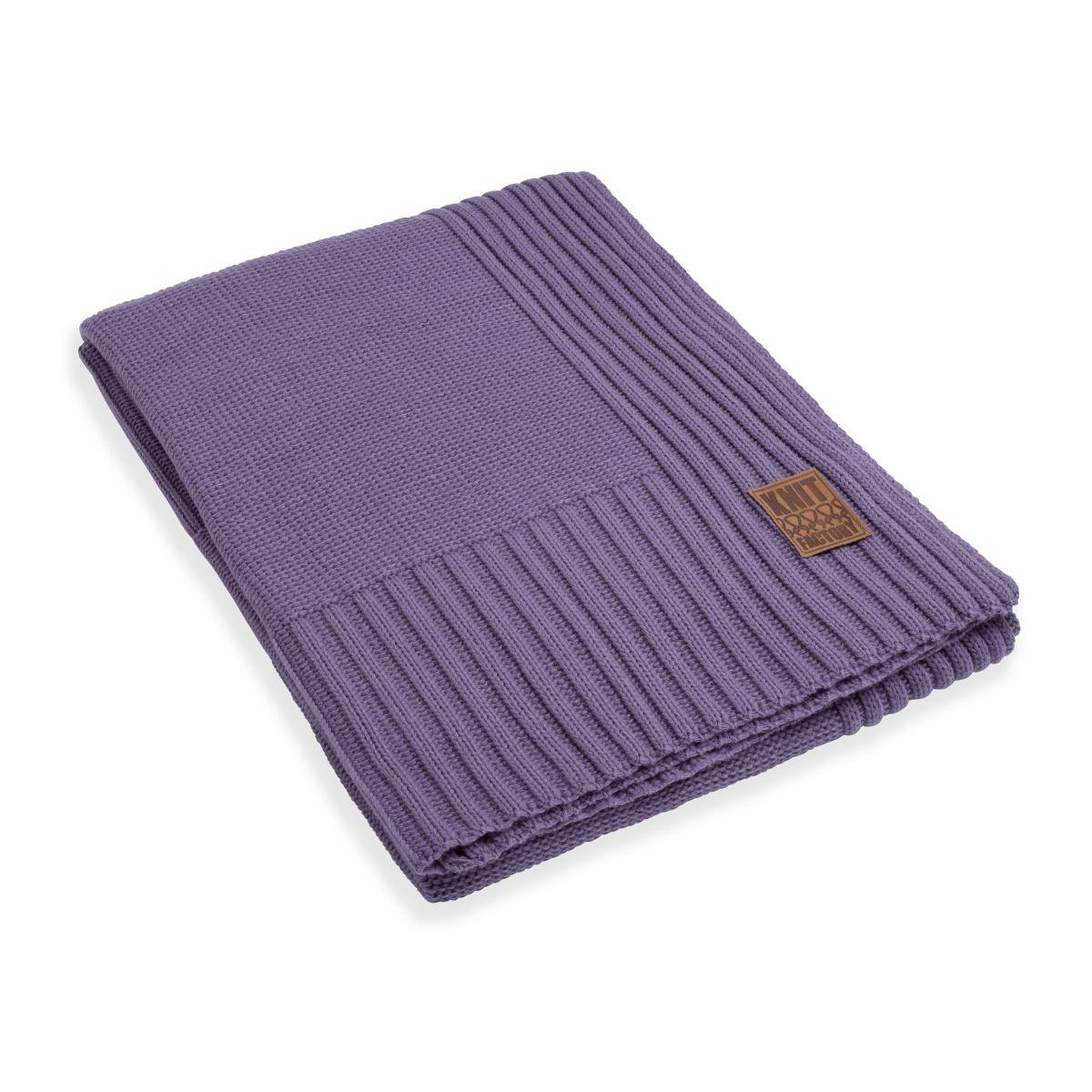 uni plaid violet