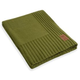 Uni Plaid XL Moss Green - 195x225