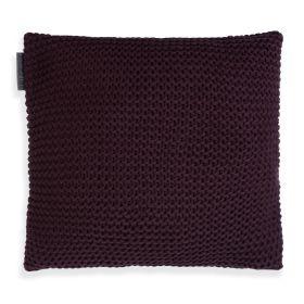 Vinz Cushion Aubergine - 50x50