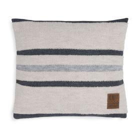 Yara Cushion Beige/Light Grey - 50x50