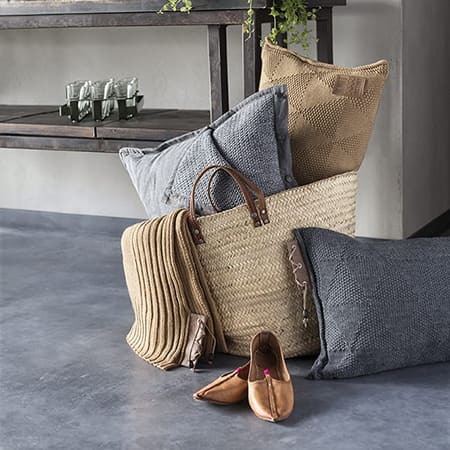 Knit Factory cushions